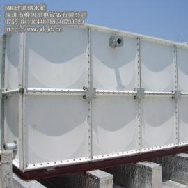 组合式玻璃钢水箱安装(厂家直销)