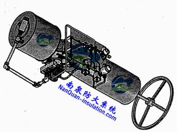 大型阀门执行器柔性防火罩Nansen可拆式隔热防火毯