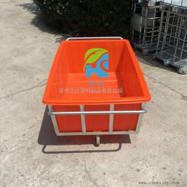 东海K1200L纺织桶周转桶牛筋桶推布车批发价格