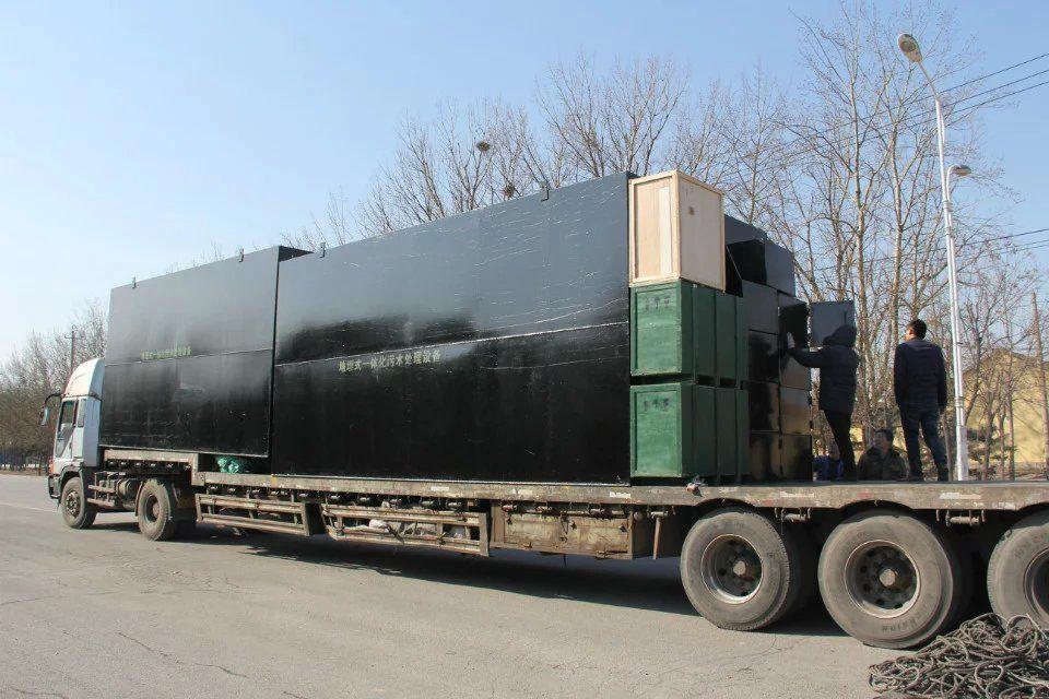 达州屠宰污水处理设备地埋式一体化