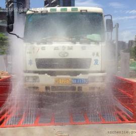 惠州建筑工地洗车池,工程洗轮机
