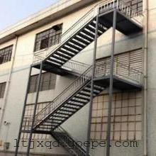 青岛钢结构楼梯,城阳钢构楼梯安装,城阳钢楼梯