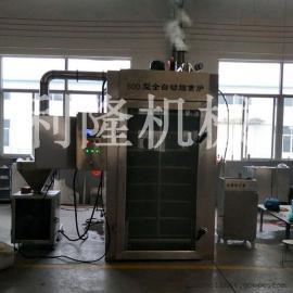汉中全自动烟熏炉 豆干专用烟熏炉 大型烟熏炉厂家