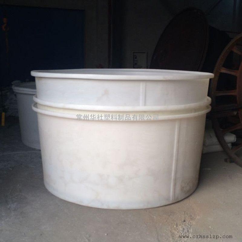 宿迁1500l塑料圆桶腌制桶鱼苗养殖桶周转桶批发价格