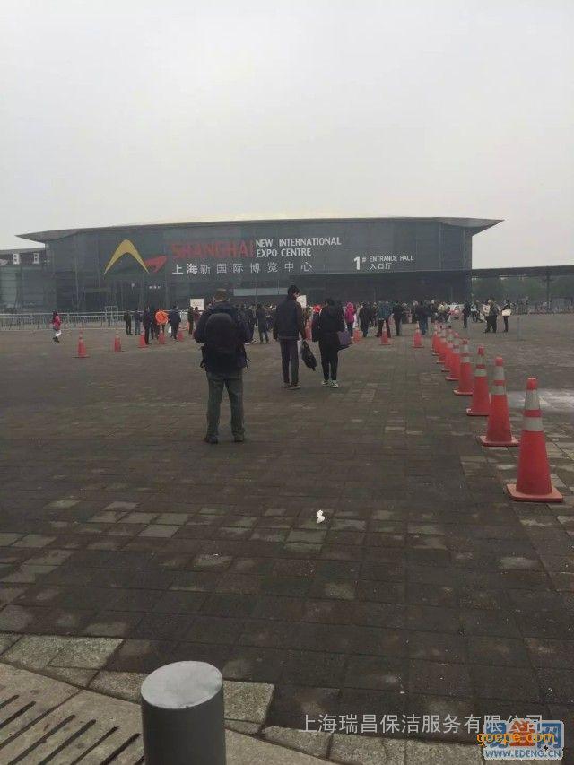 上海展会、展厅保洁、展览会现场维护、清洁工外派公司-服务