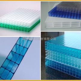 PC阳光板+空心板