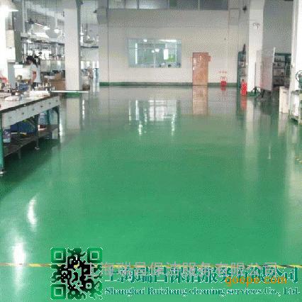上海旧地坪翻新工程-旧地坪翻新公司-施工程序