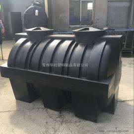 东海2吨一体化三格化粪池污水处理化粪池环保化粪池滚塑产品