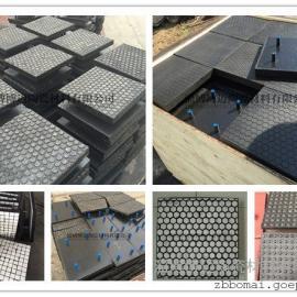 耐磨陶瓷橡胶硫化衬板 -耐磨陶瓷防磨施工服务