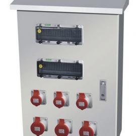 不锈钢工业插头插座基业箱 户外防水插座配电箱 成套箱