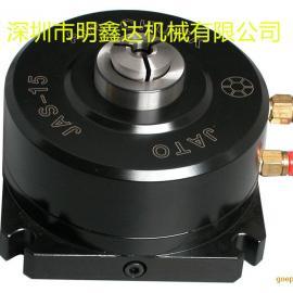 JAS-15台湾朝铨气动固定夹头,前推式固定夹头座