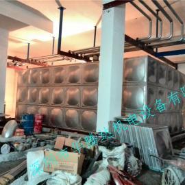 不锈钢生活供水保温水箱 不锈钢保温生活水箱安装案例
