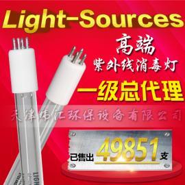 美国LIGHT SOURCES GHO36T5L/4P 80W单端四针紫外线杀菌灯