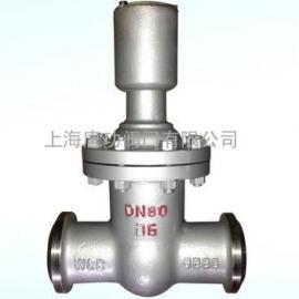 唐功FDZ65H-16C焊接防盗闸阀 油田防盗自锁闸阀
