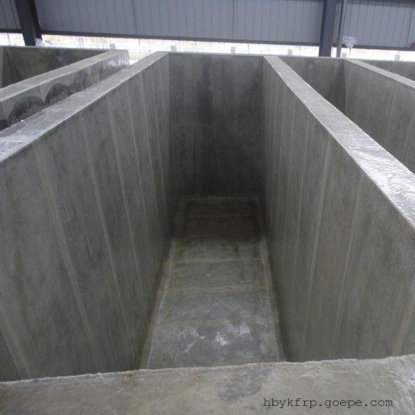 水泥池玻璃钢防腐 四布六油玻璃钢内衬防腐