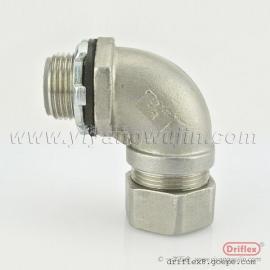 Driflex不�P�90度���^金�侔�塑�管接�^穿�管接�^