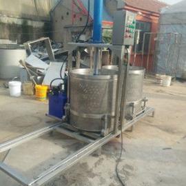 咸菜压榨机,食品液压压榨机生产,蔬菜酱菜压榨脱水机