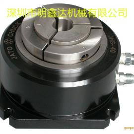 JHS-40台湾朝铨油压固定夹头,立式油压夹头座