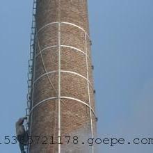 烟囱安装爬梯护网工程