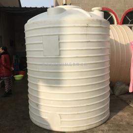 滨海5吨耐酸碱塑料水箱化工液体搅拌罐智慧彩票开户水箱厂家