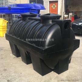 兴化1.5吨耐酸碱碱三格化粪池成品化粪池一体化化粪池