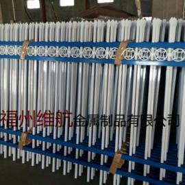 福建泉州小区别墅庭院围栏 漳州学校厂区围墙护栏 锌钢栅栏