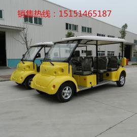 新疆地区8座敞开式电动观光车|利凯士得厂家直销四轮电动看房车