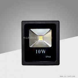 10W投光灯,长方形系列厚料高亮集成LED投射灯