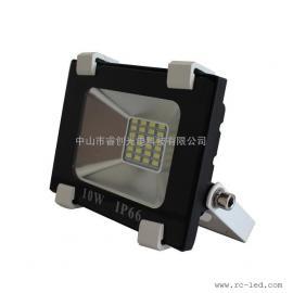 10W贴片款投光灯,集成驱动DOB贴片白光LED投射灯