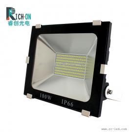 100W贴片款投光灯,集成驱动DOB贴片白光LED投射灯