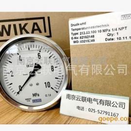 日本 WIKA 压力表 213.53.100 0-10MPA