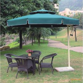 户外遮阳伞 站岗台边伞 铝合金侧边伞 庭院单边伞 香蕉伞