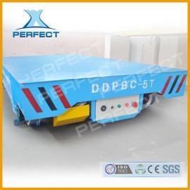 20吨蓄电池轨道电动无轨平车搬运压力容器喷漆喷砂房高效率低消耗
