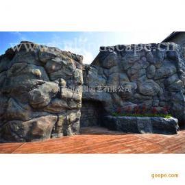 观星崖景观设计假山制作|喷泉制作|南华寺佛雕|石雕雕像
