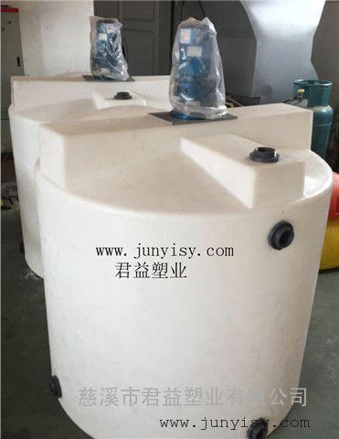 福建2立方耐酸碱搅拌桶 2吨计量搅拌桶