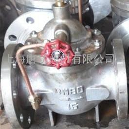 唐功100X不锈钢遥控浮球阀 不锈钢水利控制阀