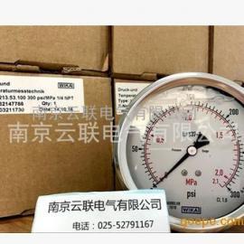 WIKA波登管压力表EN837-1