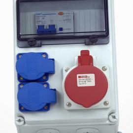 防水配电箱 配电箱小成套 可立式成套插座移动电源箱