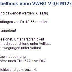 RUD万向旋转吊环VWBG-V 5-M30|德国RUD吊环