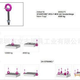 RUD吊环固定加长螺栓式带止动片VRS-F-M30