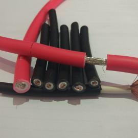 易初厂家PV1-F 4平方红色太阳能光伏电缆线