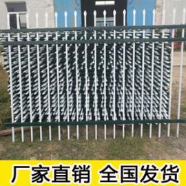 定做塑钢pvc 绿化栅栏塑钢护栏围栏草坪园艺栏杆篱笆
