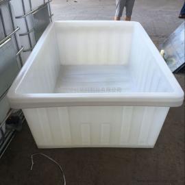 杭州K1500L方形塑料桶周转桶布衣内胆纺织专用桶厂家批发