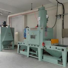 涡轮增压器壳体喷砂机工作流程