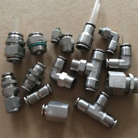 不锈钢快插接头/304气管接头/316气源接头厂家