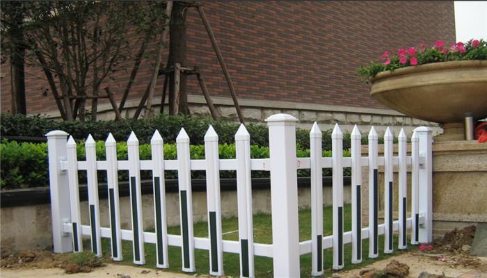 南昌新建PVC花坛护栏 南昌安义东湖PVC护栏 南昌栏杆