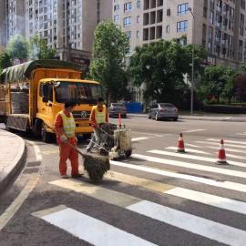 重庆马路热熔划线公司专业公路标线施工队伍企业