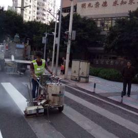 北碚马路划画线施工队 重庆专业标线企业公司地址