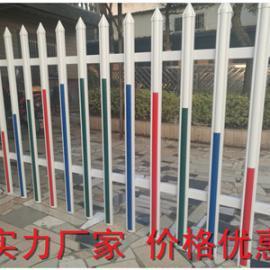 PVC草坪护栏 PVC绿化带护栏塑钢护栏 PVC栏杆围栏