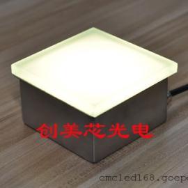 灯砖_地砖灯_地面玻璃砖专业生产厂家